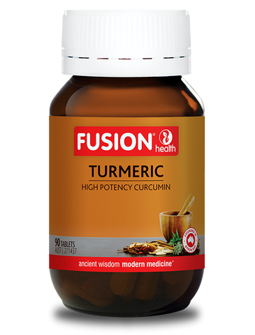 Fusion Health- Turmeric High Potency 90T