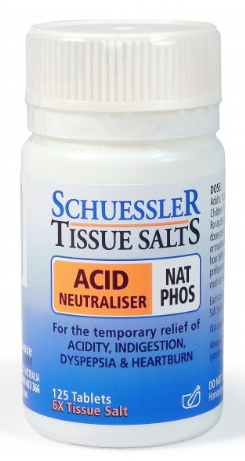 Martin & Pleasance Schuessler Tissue Salts Nat Phos Acid Neutraliser 125T