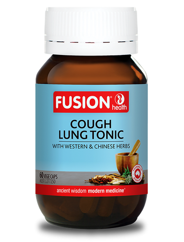 Fusion Health- Cough Lung Tonic 60VC