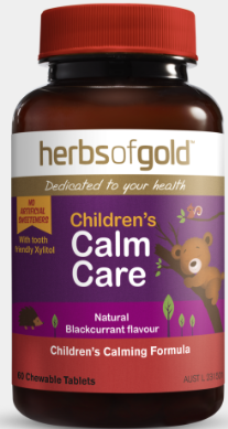 Herbs of Gold Children's Calm Care 60T
