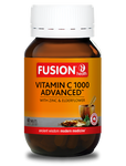 Fusion Health- Vitamin C 1000 Advanced 60 Chewable Tab