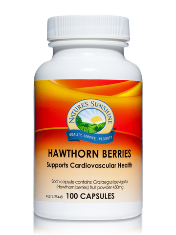 Nature's Sunshine Hawthorn Berries 450g 100C