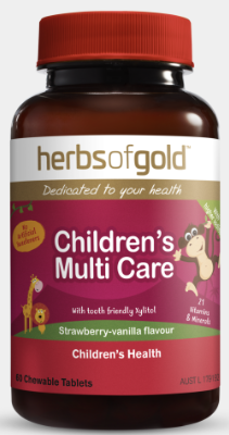 Herbs of Gold Children's Multi Care 60T