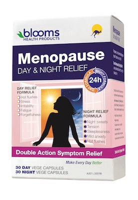 Blooms Menopause Day &Night Relief 60VC