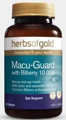 Herbs Of Gold Macu-Guard With Bilberry 60T