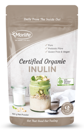 Morlife Organic Inulin Powder 150g