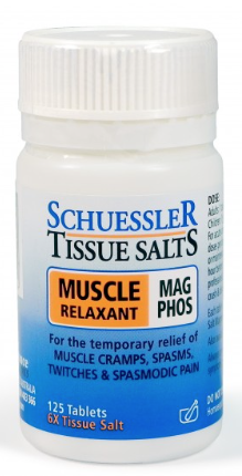 Martin & Pleasance Schuessler Tissue Salts Mag Phos Muscle Relaxant 125T