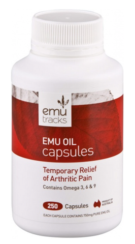 Emu Tracks-Emu Oil 750mg 250C