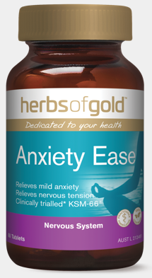 Herbs Of Gold Anxiety Ease 60T