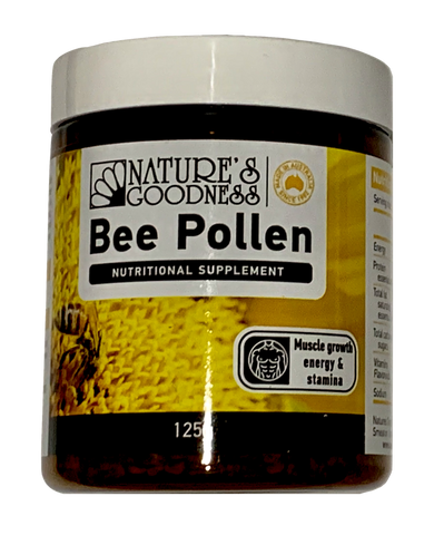 Nature's Goodness Bee Pollen 125g
