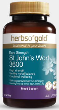 Herbs Of Gold St Johns Wort 30T