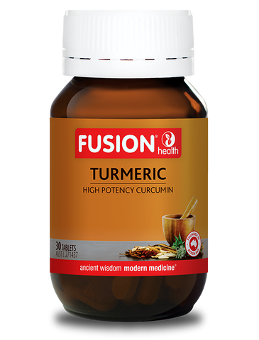 Fusion Health- Turmeric High Potency 30T