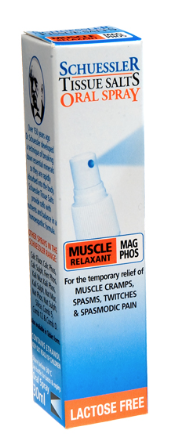 Martin & Pleasance Schuessler Tissue Salts Mag Phos Muscle Relaxant Spray 30ml