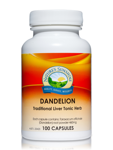 Nature's Sunshine Dandelion 460mg 100C