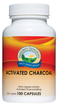 Nature's Sunshine Activated Charcoal 260mg 100C