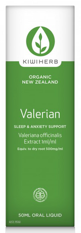 Kiwi Herb  Valerian Sleep & Anxiety Support 50ml