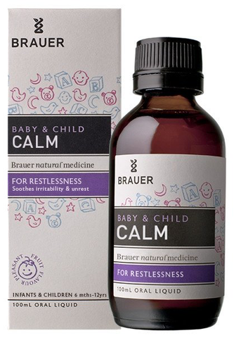 Brauer Baby & Child Calm for Restlessness 100ml