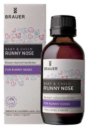 Brauer Baby & Child Runny Nose 100ml