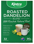 Kintra Foods Roasted Dandelion G/F 32 Filter Bags 90g