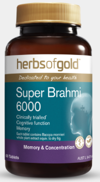 Herbs Of Gold Super Brahmi 6000 60T