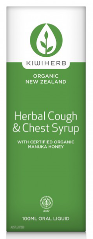 Kiwi Herb Herbal Cough & Chest Syrup 200ml