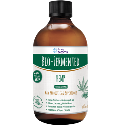 Blooms Bio-Fermented Hemp Concentrate 500ml