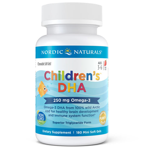 Children's DHA 180 chewable soft gels
