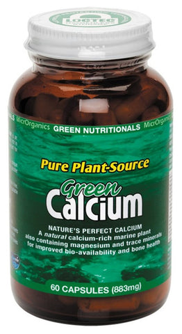 Green Nutritionals Calcium 60 Vegan C