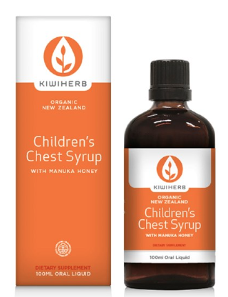Kiwi Herb Children's Cough & Chest Syrup 100ml