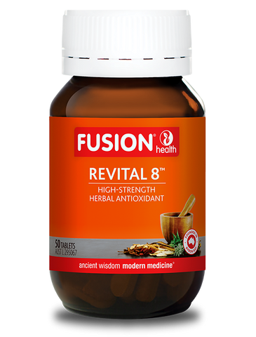 Fusion Health- Revital 8 Antiox 50T