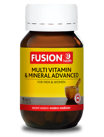 Fusion Health- Multi Vitamin & Mineral Advanced 90T