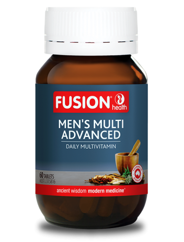 Fusion Health- Men's Multi Advanced 60T