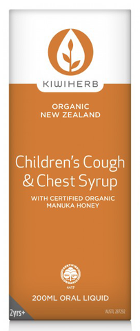Kiwi Herb Children's Cough & Chest Syrup 200ml