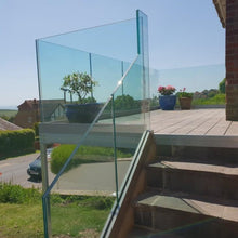 Load image into Gallery viewer, 13mm Toughened Laminated Glass Balustrade Panels