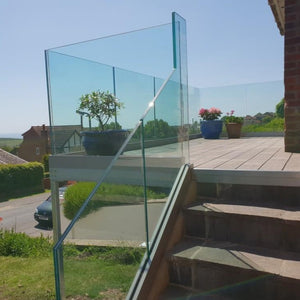 13mm Toughened Laminated Glass Balustrade Panels