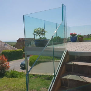 17mm Toughened Laminated Glass Balustrade Panels