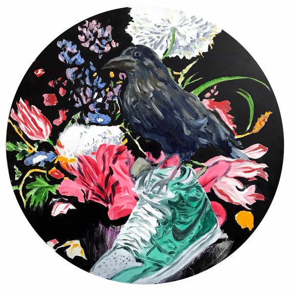 The Bird, The Flowers and The Sneaker, 2019