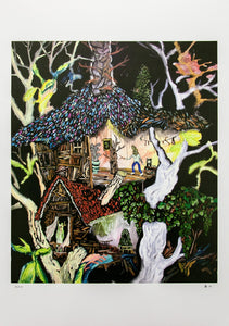 Memories Of My Garden - Tree House II