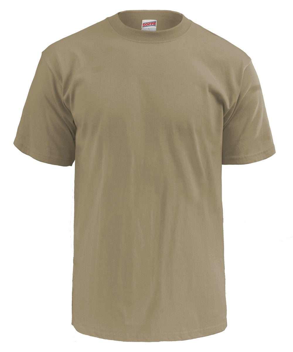 Soffe 100% Cotton Tee-MADE IN USA