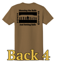Load image into Gallery viewer, NTAG PNW FCPOA T-shirt (Coyote Brown/Woodland Brown)