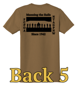 NTAG PNW FCPOA T-shirt (Coyote Brown/Woodland Brown)
