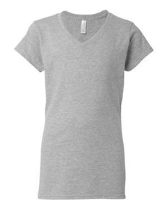 Gildan - Softstyle® Women's V-Neck T-Shirt - 64V00L