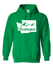 Load image into Gallery viewer, Washington State Mountain Hoodie