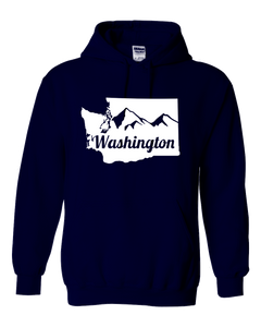 Washington State Mountain Hoodie