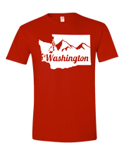 Load image into Gallery viewer, Washington State Mountains T-shirt