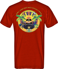 Load image into Gallery viewer, FRC/ASD Key West CPOA 100% Polyester Performance T-shirt