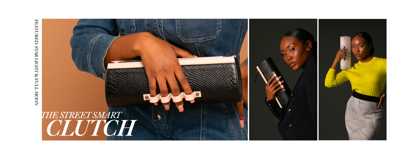Wren & Roch Spring/Summer '20 Look Book - Street Smart clutch