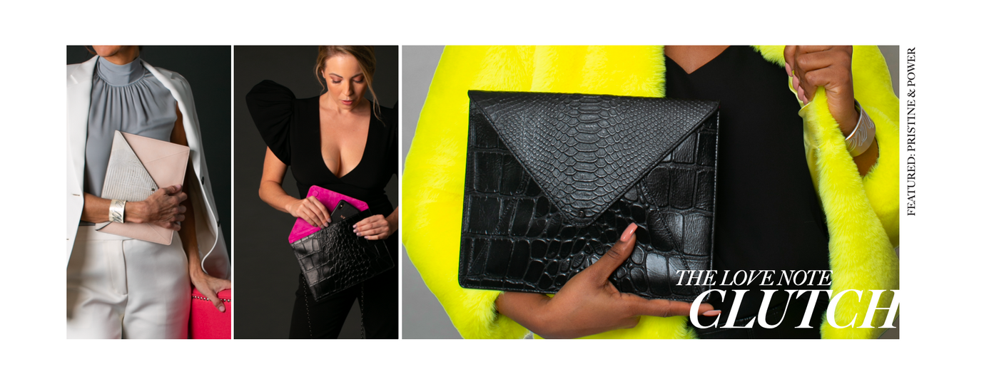 Wren & Roch Spring/Summer '20 Look Book - Love Note clutch