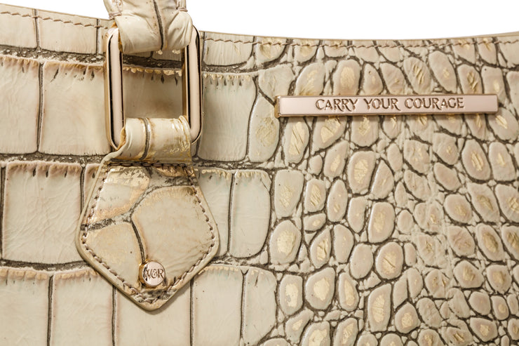 Wren & Roch Amazing Grace Handbag - Valor handle detail