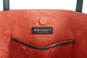 Wren & Roch Best Friend Tote - Rise interior single pocket and logo with lining